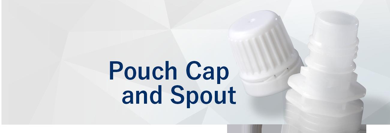 Pouch Cap and Spout