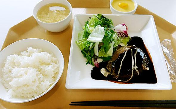 竹林伸さん 昼食